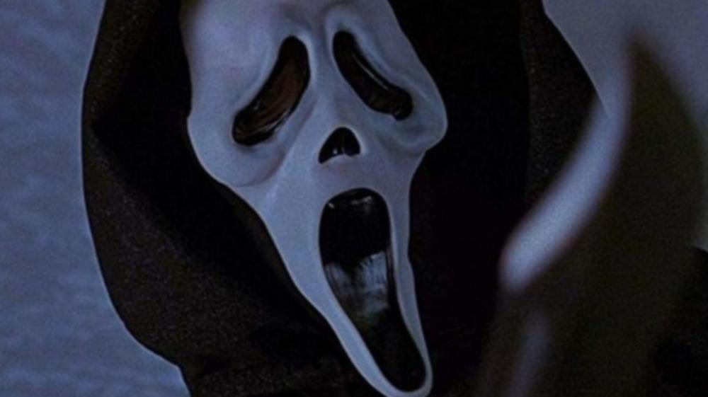 scream ghostface killer knife