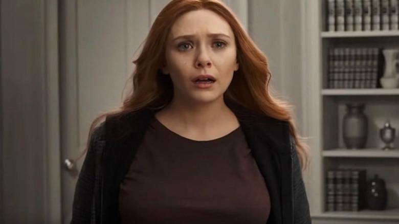 Wanda looks upset