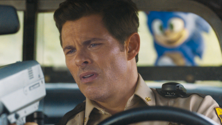 James Marsden as Tom in Sonic the Hedgehog