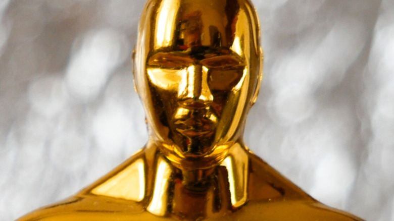 Oscar Award in a mask