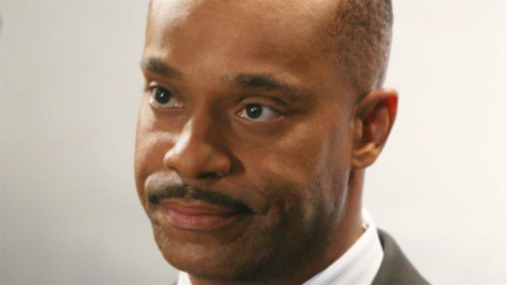 NCIS' Leon Vance looks stern