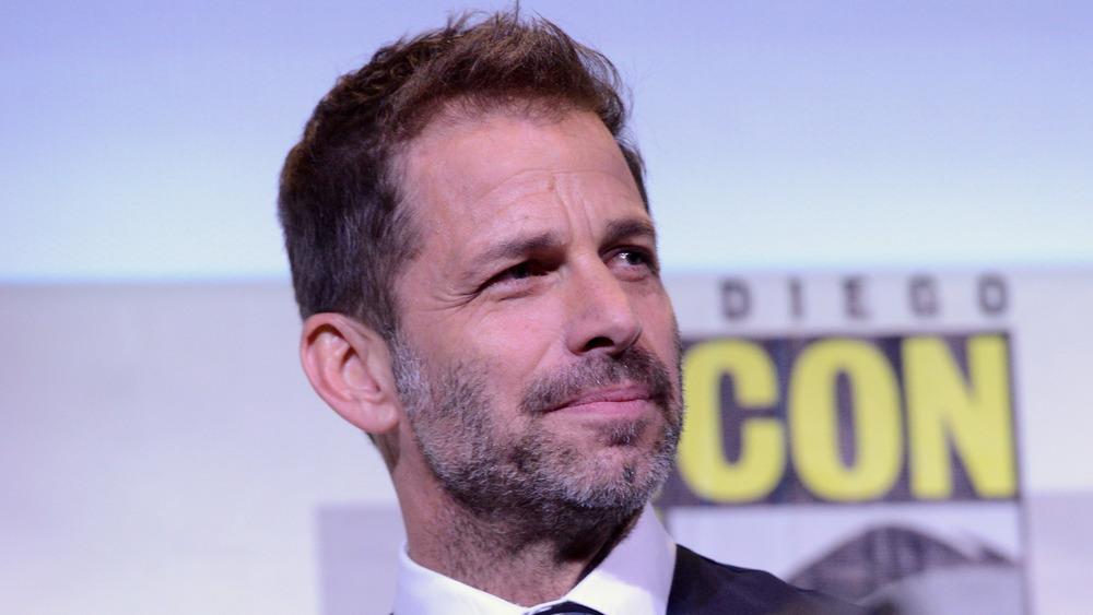 Zack Snyder smiling