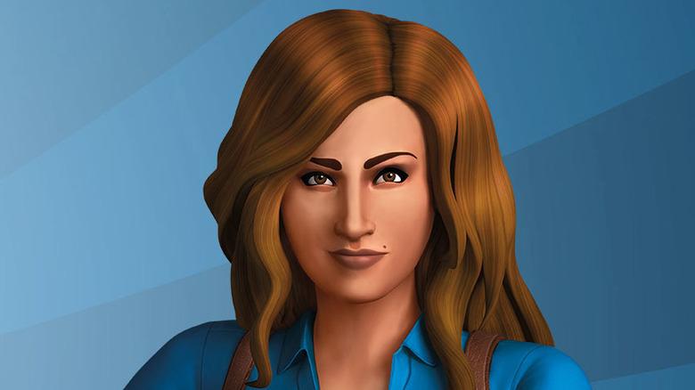 brunette Sim