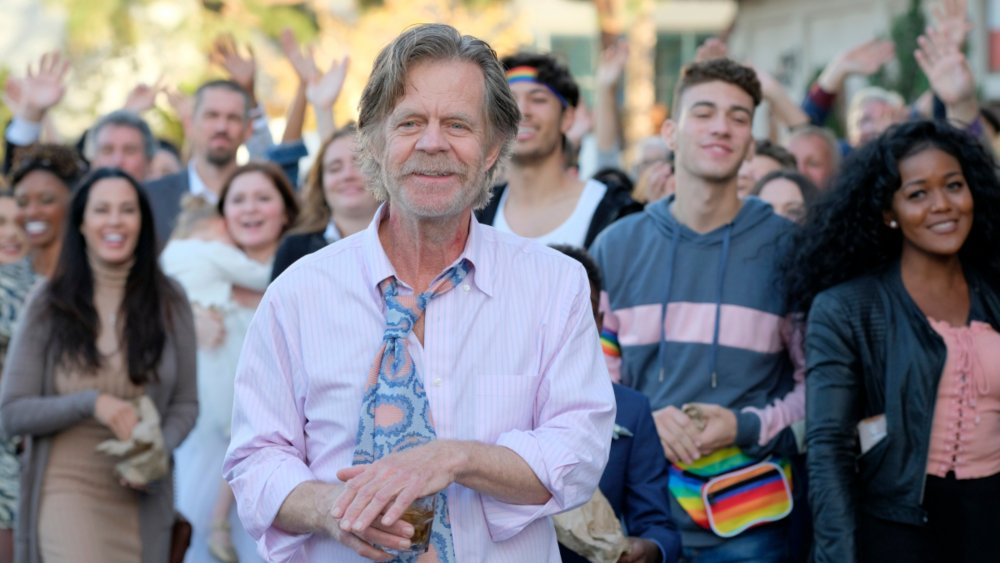 Frank (William H. Macy) watches his son get married on Shameless