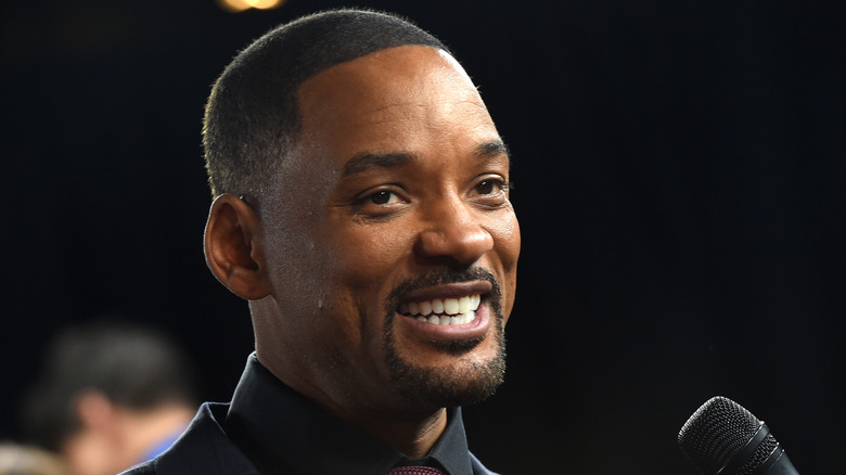 Will Smith at the premiere of Concussion in 2015