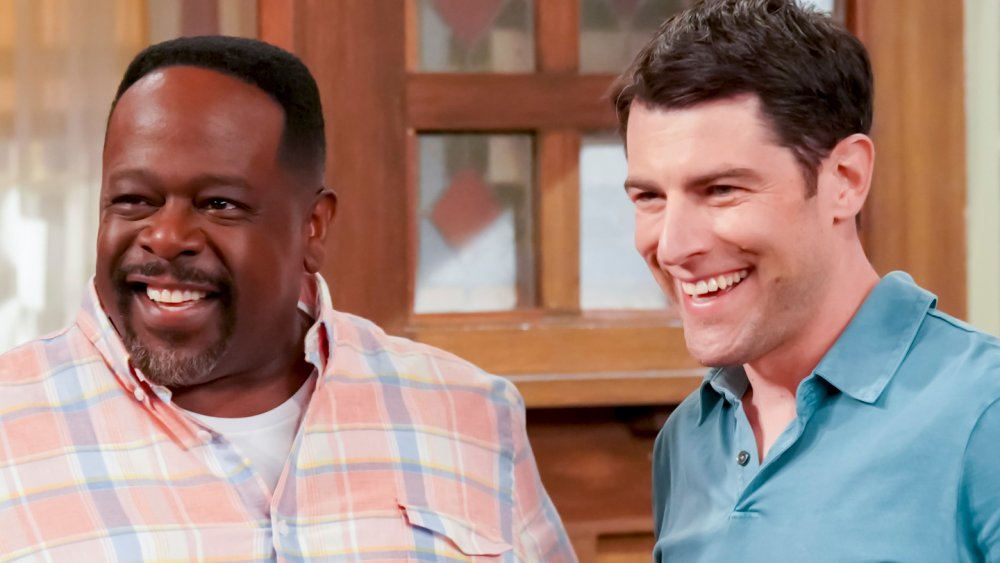 Cedric the Entertainer as Calvin and Max Greenfield as Dave in The Neighborhood