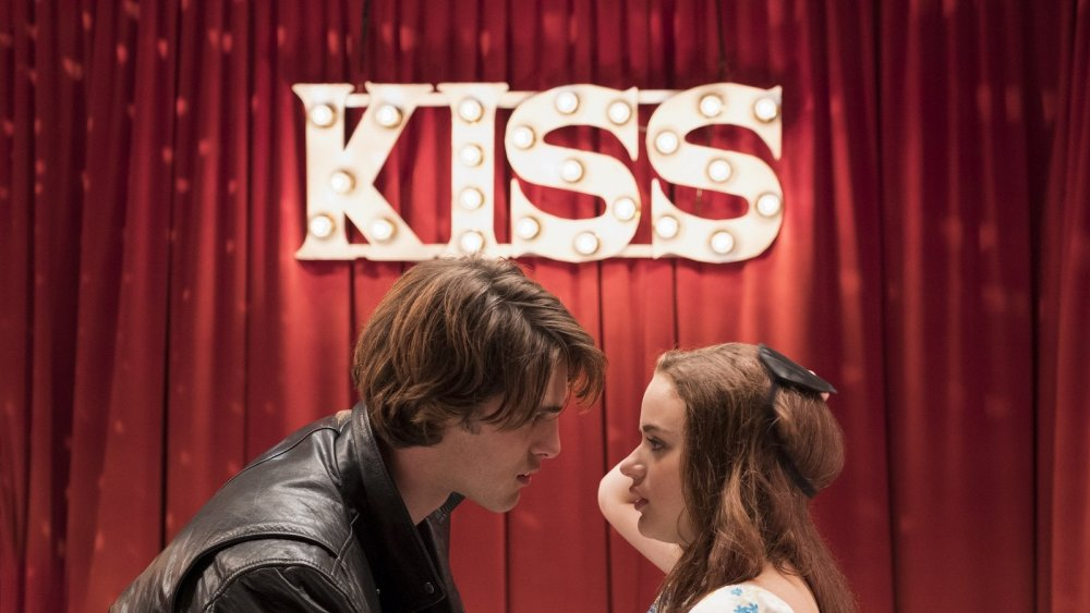 Joey King and Jacob Elordi in The Kissing Booth