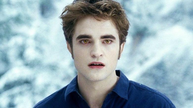Robert Pattinson as Edward Cullen in Twilight