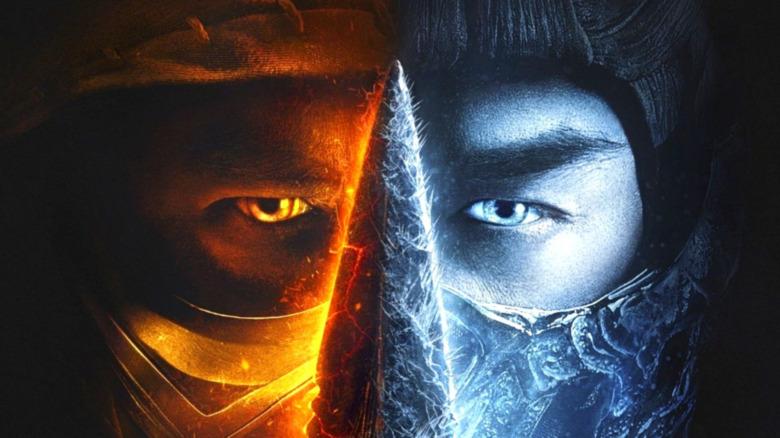 Scorpion Sub-Zero Mortal Kombat poster