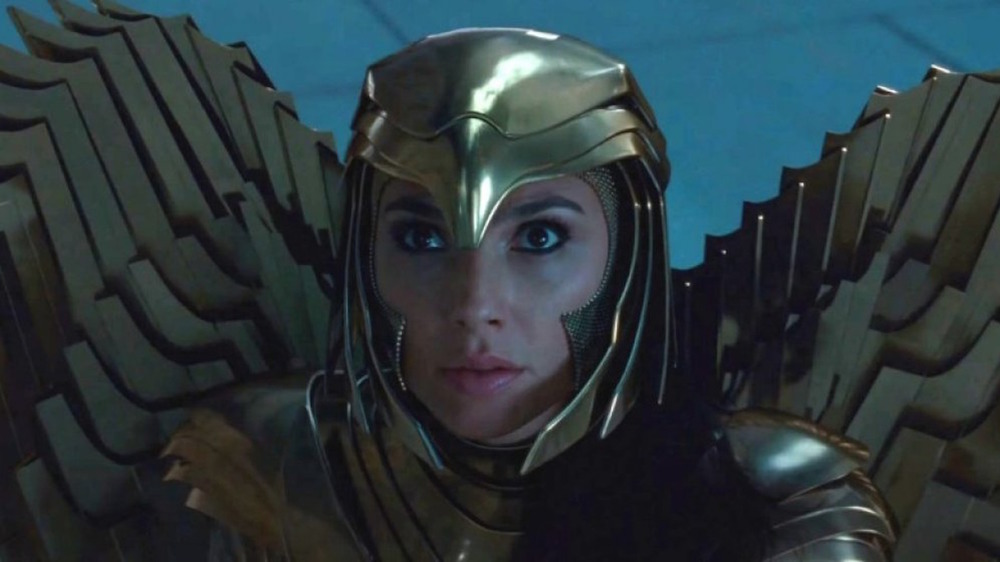 Wonder Woman in Golden Armor