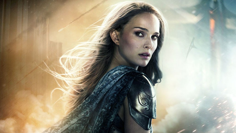 Jane Foster from Thor: The Dark World poster