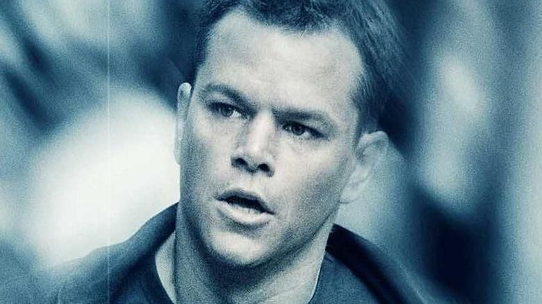 Matt Damon Jason Bourne movie poster
