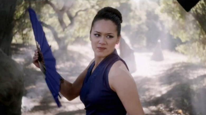 Wonder Woman set pics reveal Mortal Kombat: Legacy star
