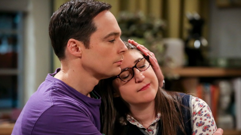 Sheldon and Amy love each other very much on The Big Bang Theory