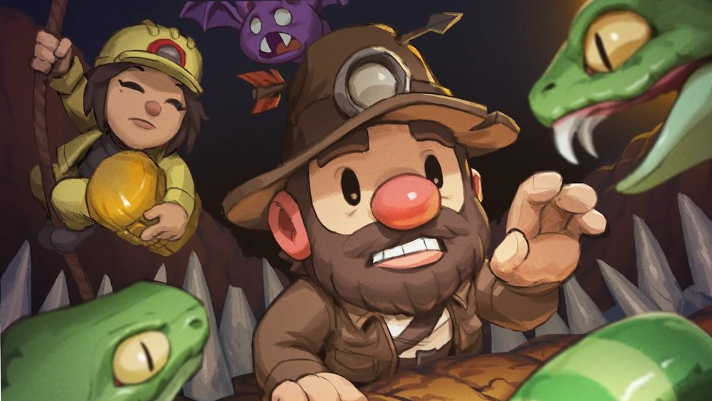 Spelunky 2, mossmouth, rogue like, rogue-like, cave, platformer, 2d, playing, wrong, tips, tricks