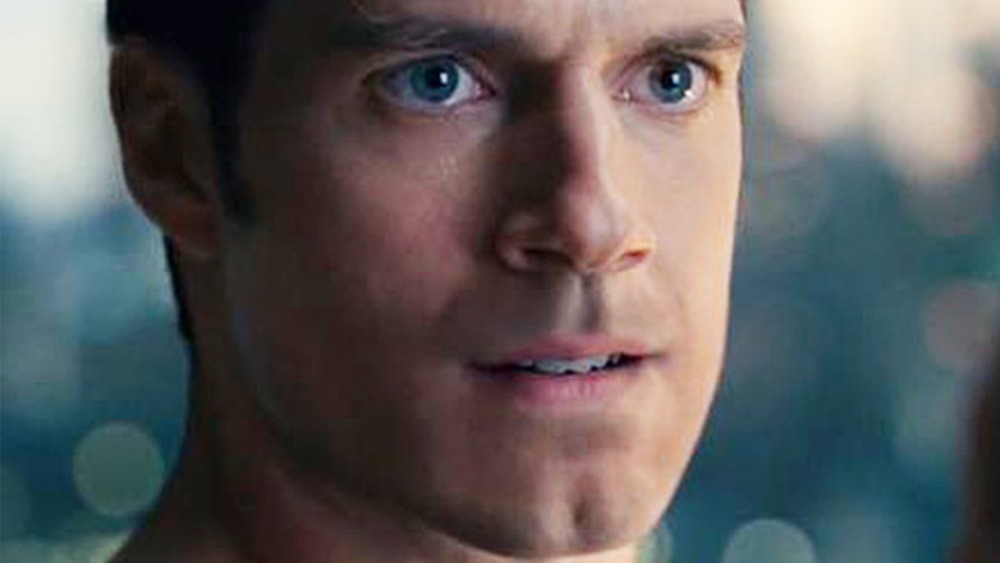 Snyder Cut Superman CGI mustache