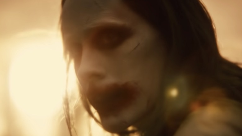 Jared Leto as the Joker in Zack Snyder's Justice League