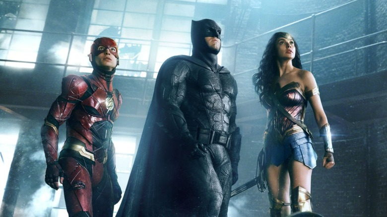 The Justice League assembles in Zack Snyder's superhero film