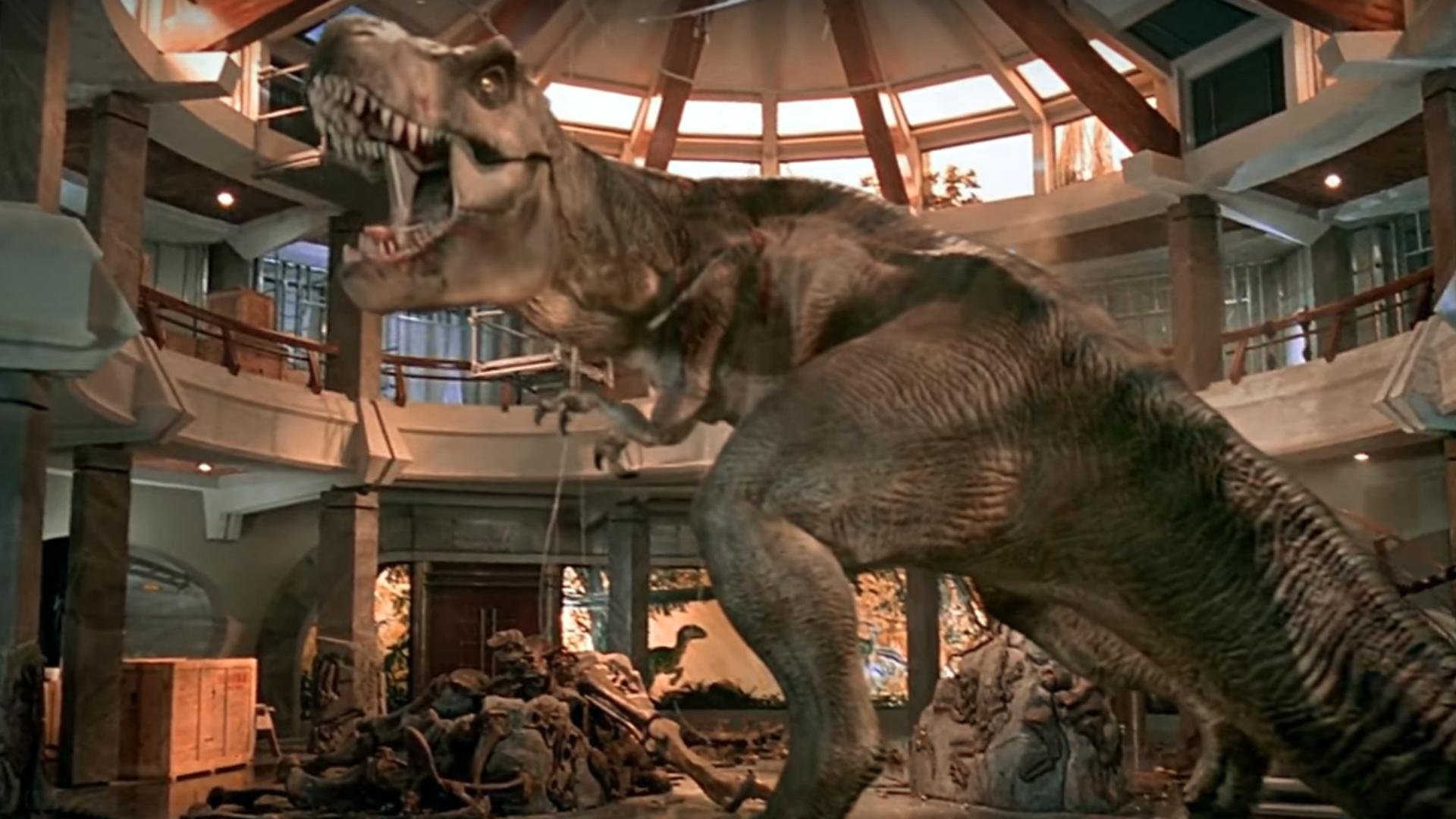 The T Rex Will Return For Jurassic World 2