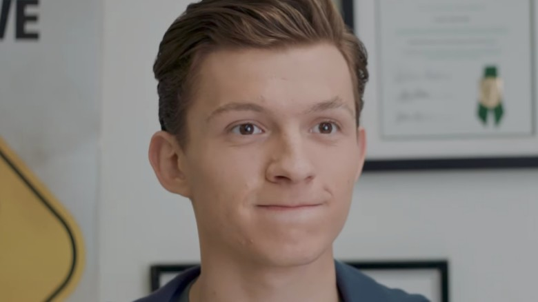 peter takes his driving test in homecoming spot