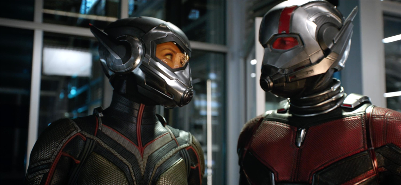 2018 Marvel Ant Man Helmet Cosplay Ant-Man and The Wasp Scott Superhero Mask