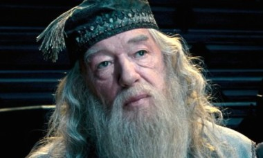 Michael Gambon in Harry Potter and the Order of the Phoenix