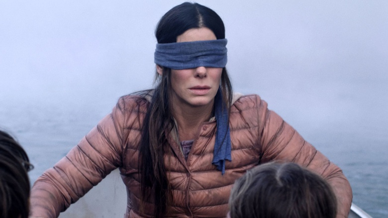 The ending of Bird Box...